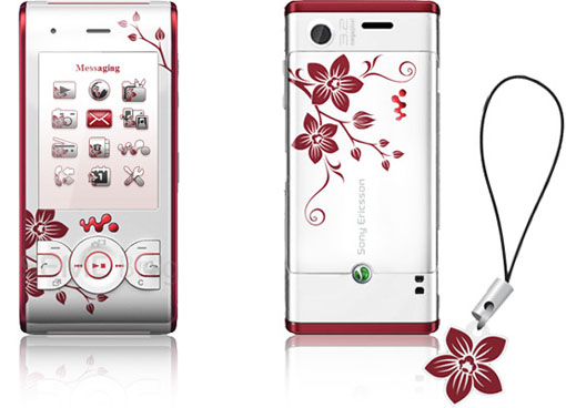 sony ericsson flower edition