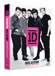 One Direction. Gdzie jesteśmy. Książka. NOWA