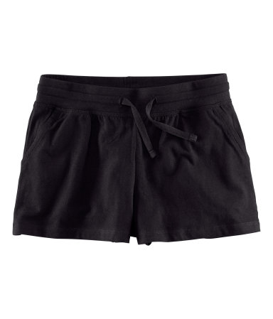 Szorty czarne H&M