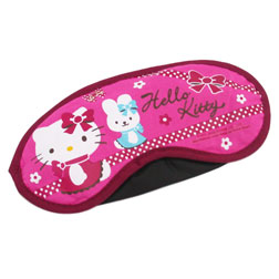 Maska na oczy z hello kitty