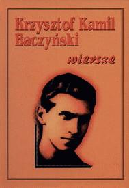 Tomik wierszy Baczyńskiego