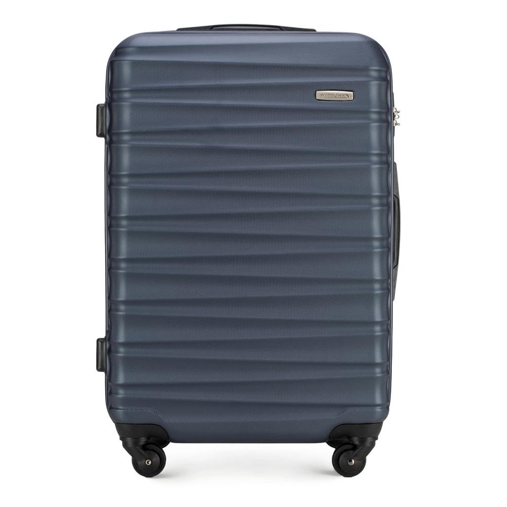 Średnia walizka WITTCHEN granatowa