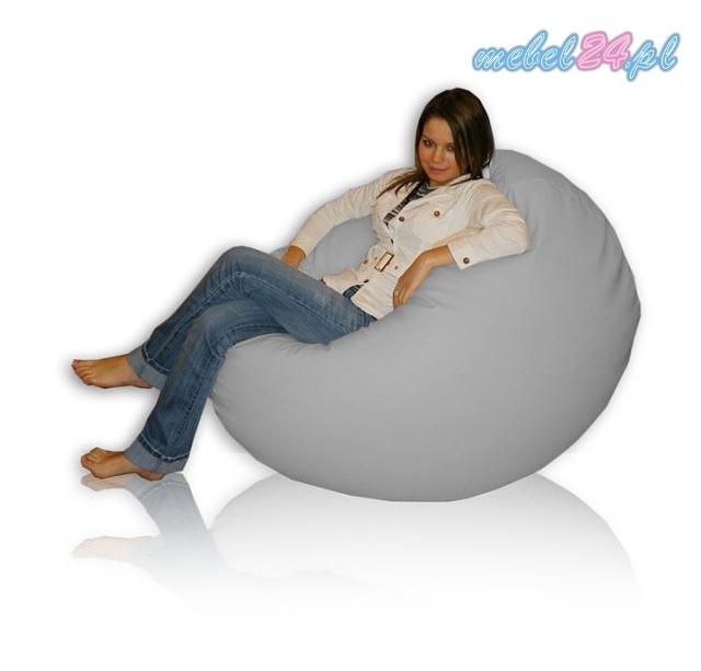 wielki fotel relaksacyjny z granulatem FUNNY Wyspa Maxi