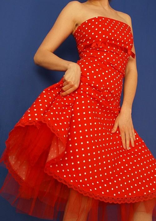 Sukienka w groszki :)
