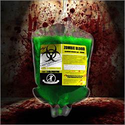 Żel z krwi zombie