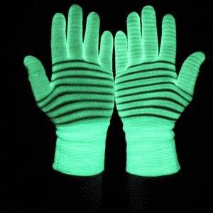 Świecące rękawiczki