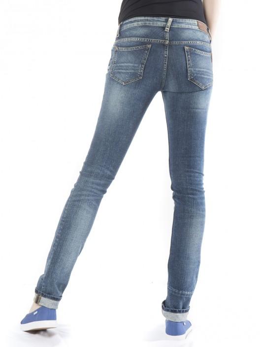 Damskie spodnie z jeansu