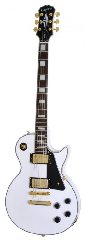 Epiphone Les Paul Custom White
