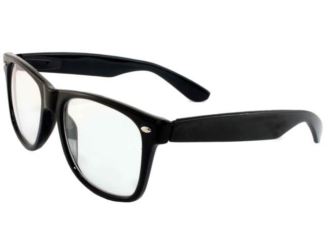 Zerówki okulary Wayfarer ;D