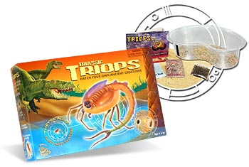 Triops z Triasu