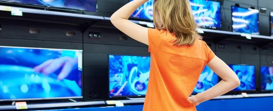 Telewizor w sklepie
