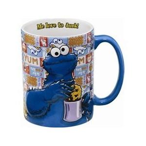Kubek  z Cookie Monsterem < 333