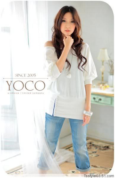 Biała tunika Japan Style
