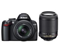 Nikon D3000 18-55 VR + 55-200 VR Kit