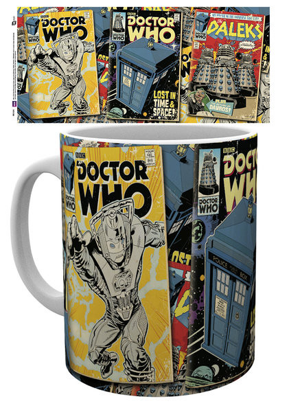 Doctor Who - Comics Kubek