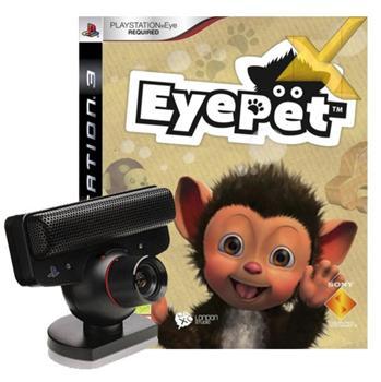 PS3 akcesoria: Kamera EyeToy + Gra: PS3 EyePet