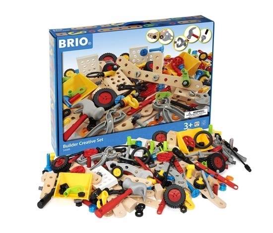 BRIO Builder Zestaw Majsterkowicza 271el. 3l+