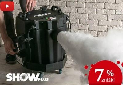 WYPRZEDAŻ! Wytwornica dymu ciężkiego SHOWplus JD52