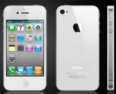Biały iPhone 4s .