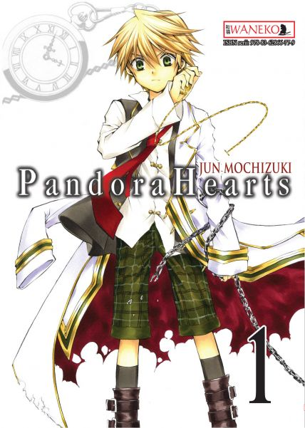 Pandora Hearts. Tom 1.