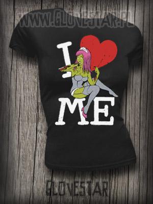 mega koszulka od glove : I