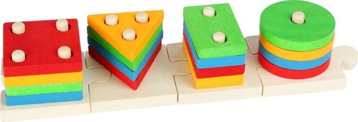 Puzzle sorter kształtów