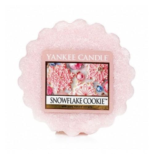 Wosk Yankee Candle- Snowflake Cookie