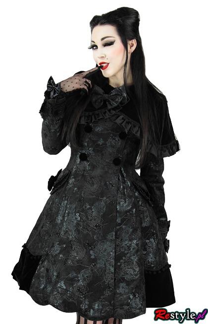 Pyon Pyon LY-021 Płaszczyk wiosenny w stylu gothic Lolita