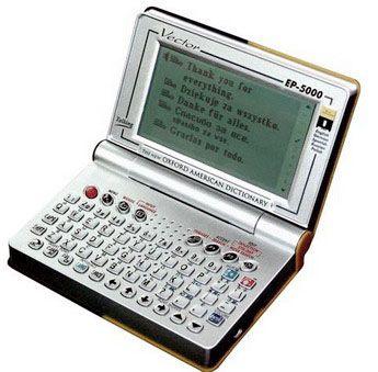 elektroniczny tłumacz EP-5000 firmy Vector