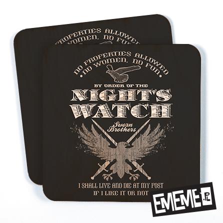Podkładki Nocna Straż