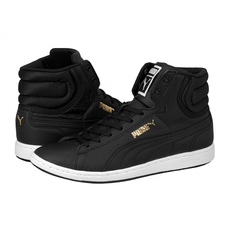 Puma First Round Super L woman's sneaker black/black