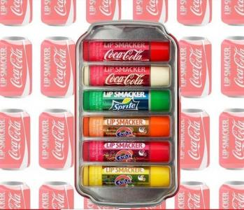 LIP SMACKER 6 pomadek w puszce Coca Cola