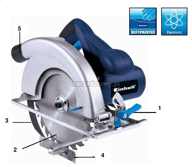EINHELL Pilarka ręczna BT-CS 1400 Blue Line