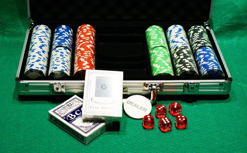 Zestaw do Pokera - Walizka 300