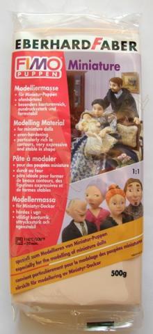 FIMO Puppen Miniature - kolor cielisty (45)