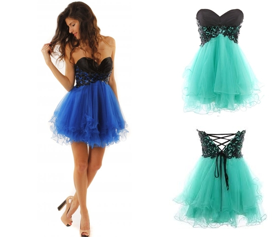 Cody Butterfly Dress - Turquoise or Blue