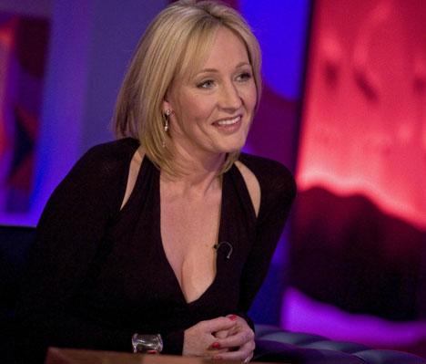 Wielogodzinna rozmowa z Jo Rowling