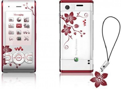 sony ericsson w595 flower edition
