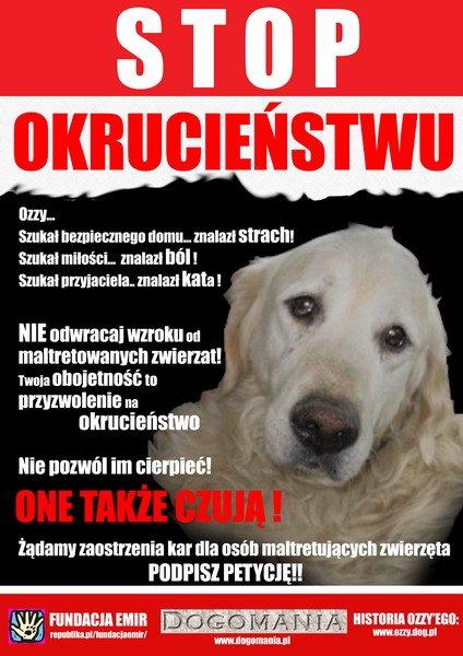 nie mantretujcie zwierząt!!!
