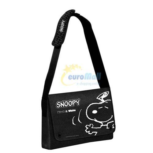 czarna torebka Snoopy euroMall