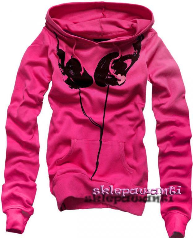 VISCONTI róż bluza sluchawki nowa EMO SKATE 38 M (714418307) - Aukcje internetowe Allegro