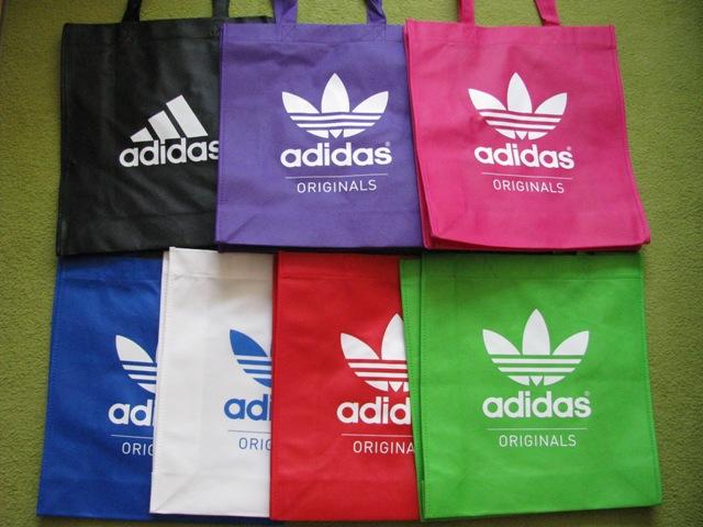 kolorowa eko  torba adidas