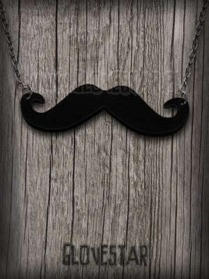 Naszyjnik mustache