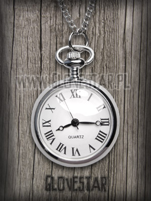 Materiał  metal  piękny naszyjnik zegarek zawiesz