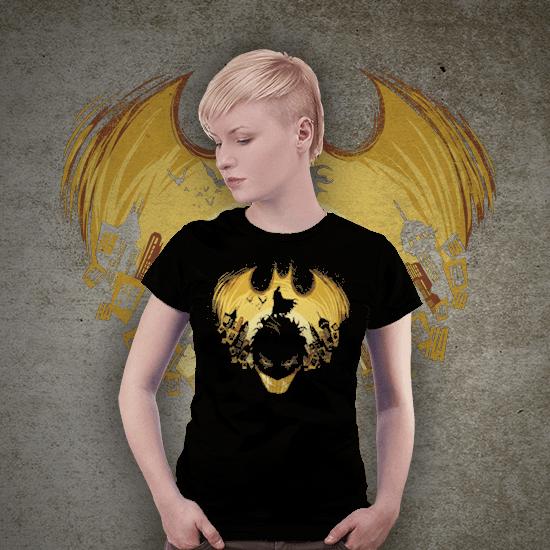 Koszulka mroczny koszmar