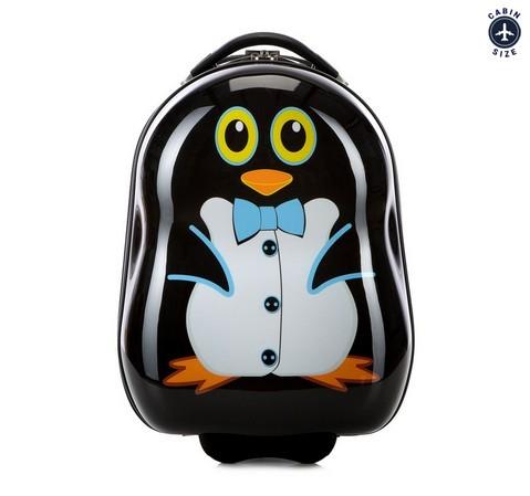 Walizka dla dziecka z obrazkiem pingwina