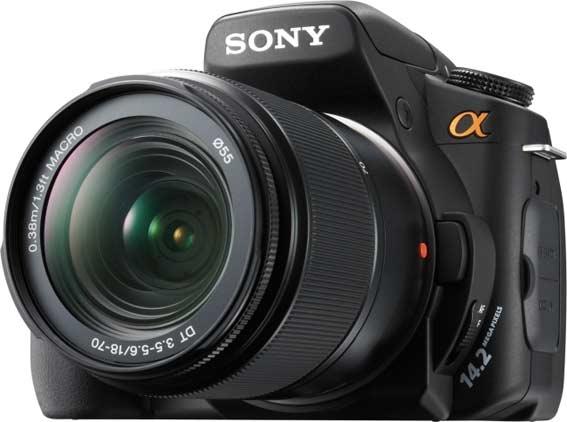 Lustrzanka Sony Alpha 350K
