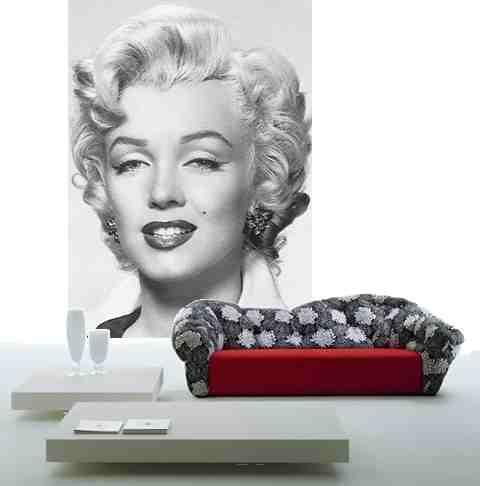 Marilyn Monroe - fototapeta