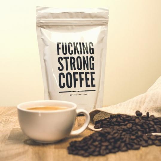 Zajeb*ście Mocna Kawa