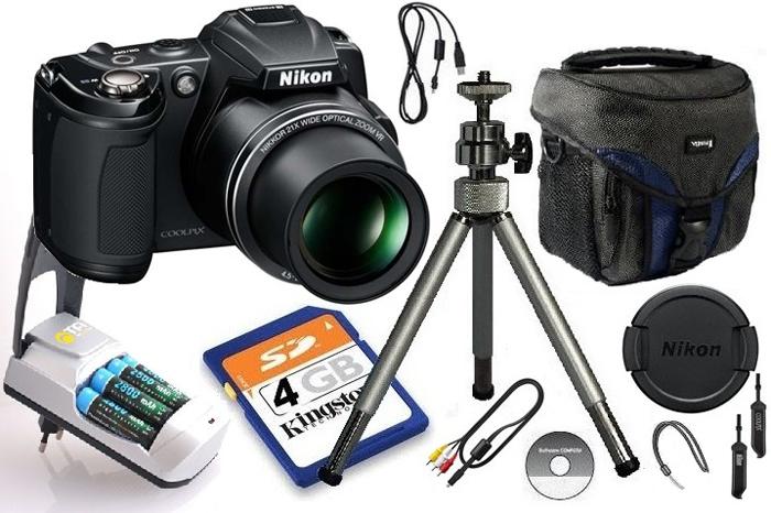 Nikon Coolpix L120 14mpix zoom x21